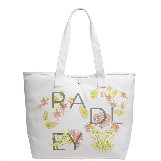 Radley London Heavy Weight Deco Letters Large Open Tote Bag