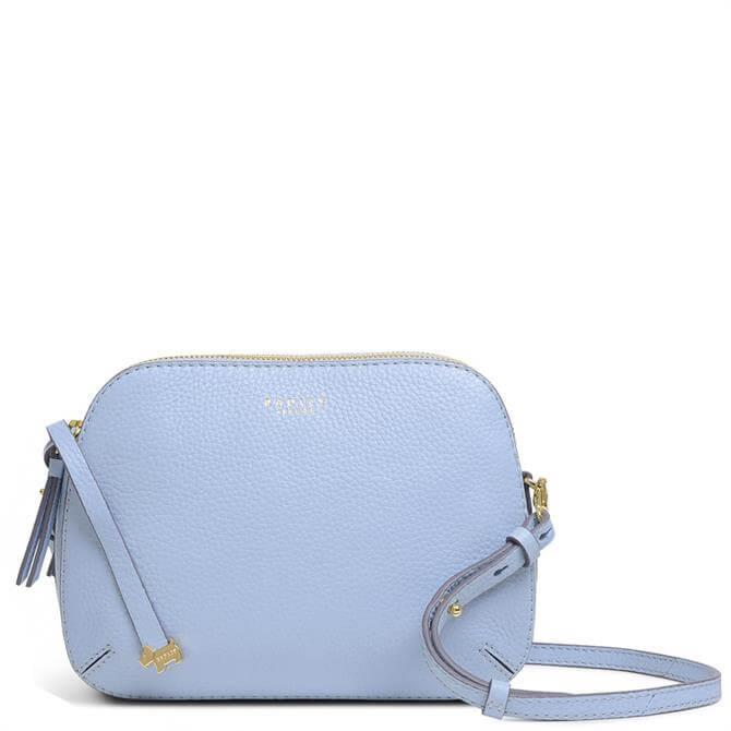 Radley London Dukes Place Light Blue Medium Zip-Top Cross Body Bag