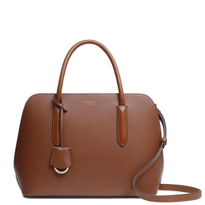 Radley London Liverpool Street 2.0 Dark Brown Medium Zip-Top Multiway Bag
