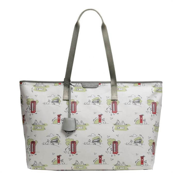 Radley London Maple Cross ? Park Life Large Zip-Top Shoulder Bag
