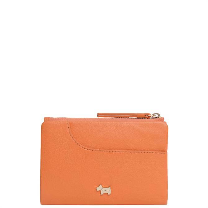 Radley London Pockets Orange Medium Bifold Purse