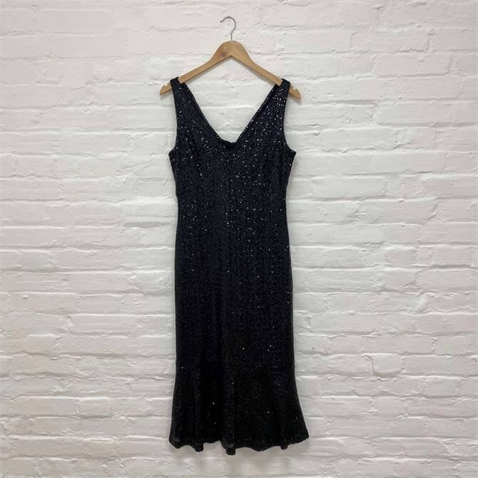 Ralph Lauren Bezzie Sleeveless Cocktail Dress