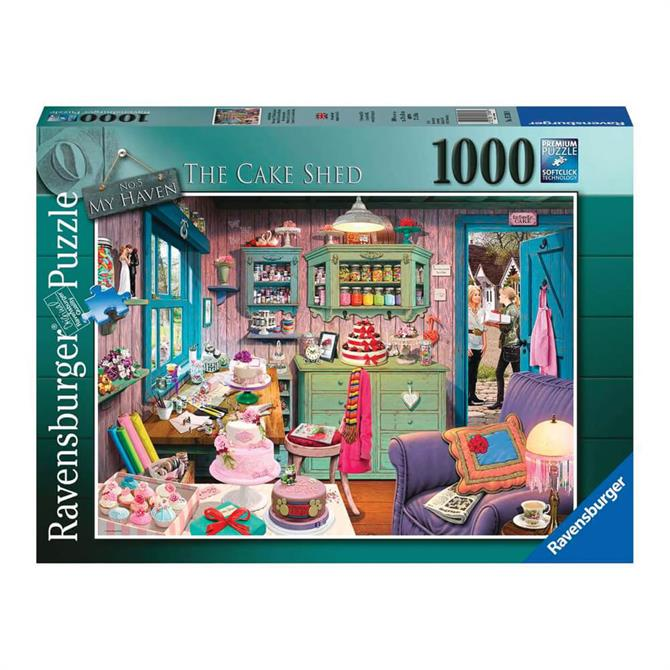 Ravensburger My Haven No5 The Cake Shed 1000pc Jigsaw Puzzle