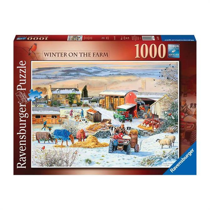 Ravensburger Winter on the Farm 1000pc Jigsaw Puzzles