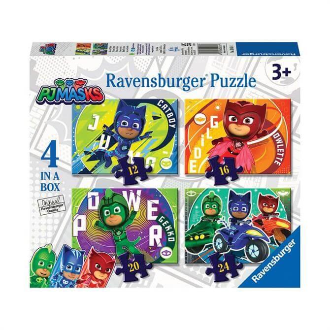 Ravensburger PJ Masks 4 in a Box Puzzles