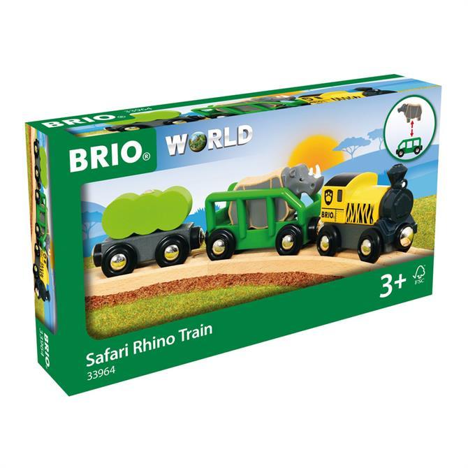 Brio World Safari Rhino Train Pack 33964