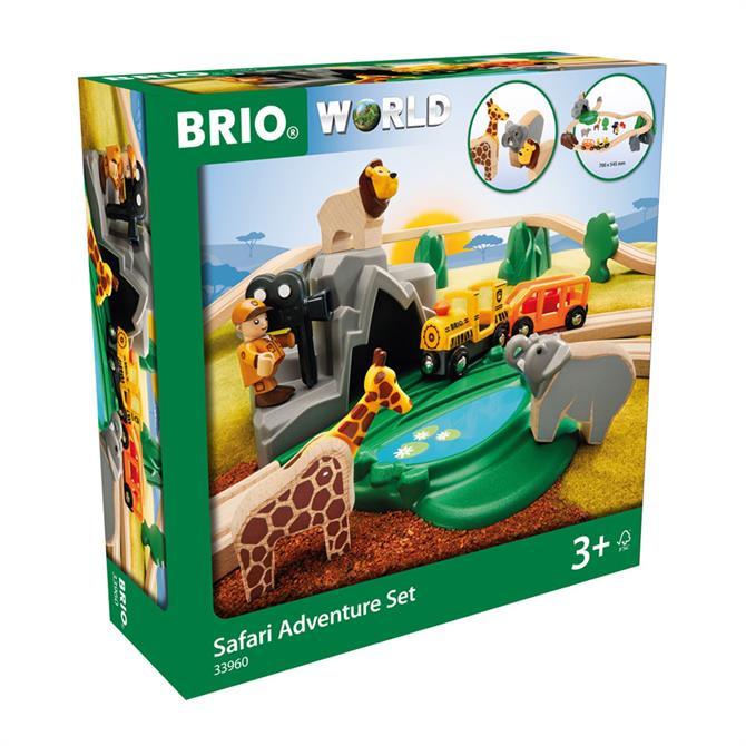Brio World Safari Adventure Set 33960