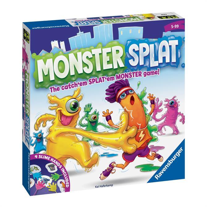 Monster Splat Kids Game