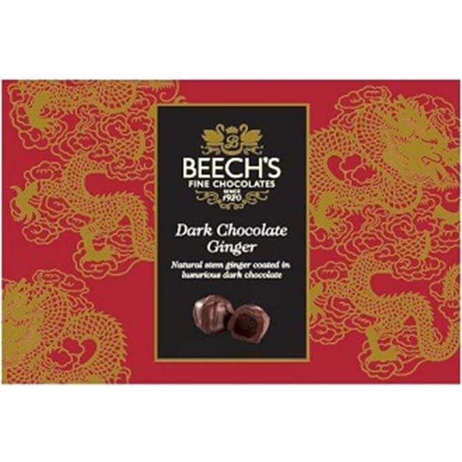 Beech's Dark Chocolate Ginger 100g