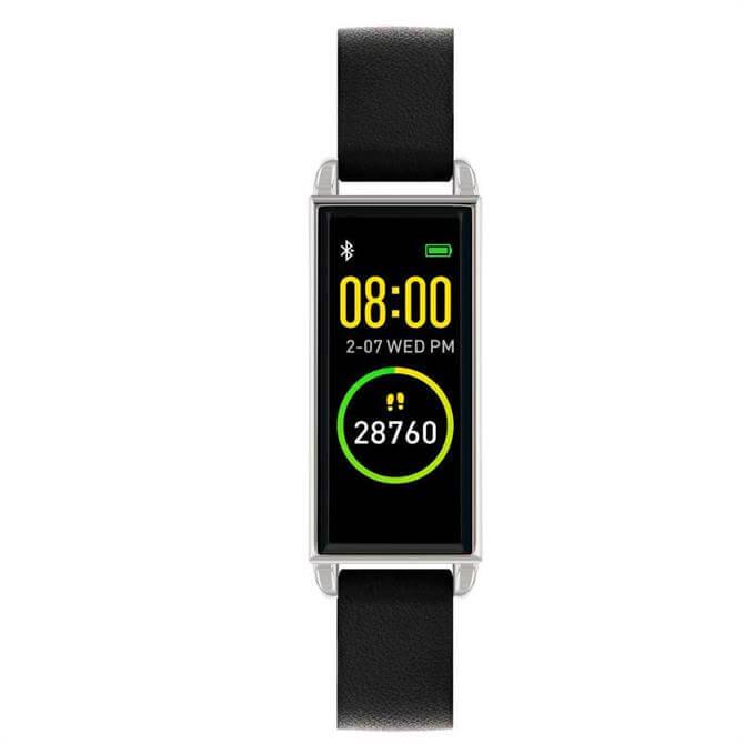 Reflex Active Series 02 Black & Silver Smart Watch