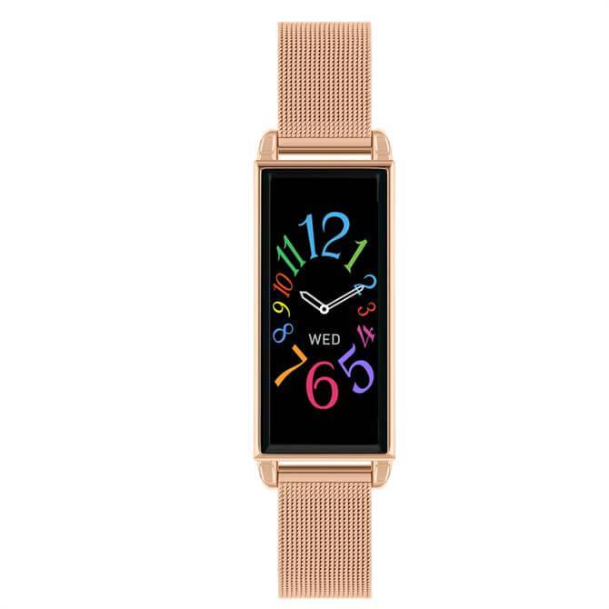 Reflex Active Series 02 Rose Gold Mesh Smart Watch