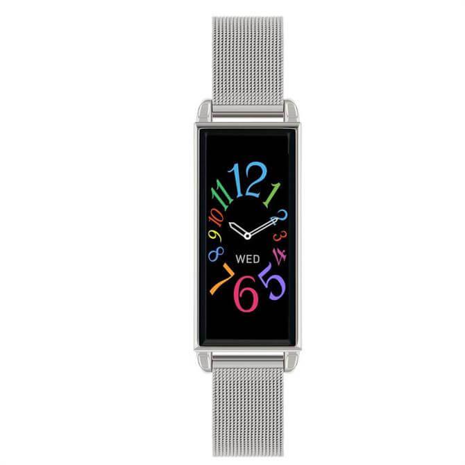 Reflex Active Series 02 Silver Mesh Smart Watch