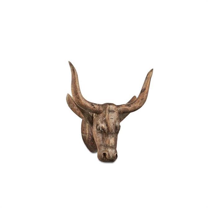 Nkuku Arba Wooden Cow Head