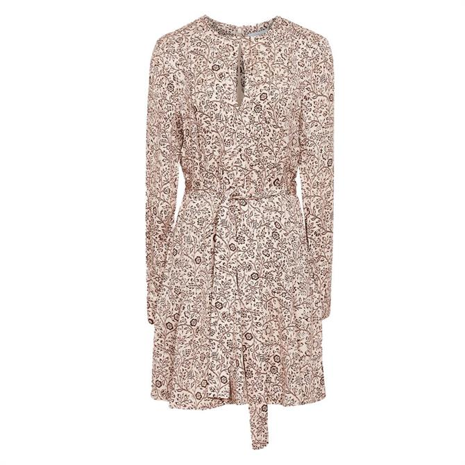 REISS Paisley Printed Mini Dress