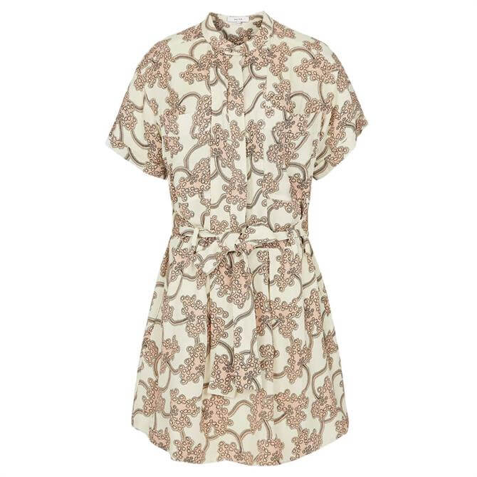 REISS NICO Printed Mini Dress