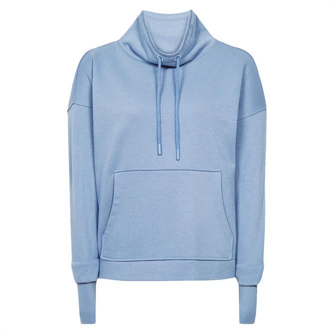 REISS JULIETTA Loungewear Funnel Neck Sweatshirt