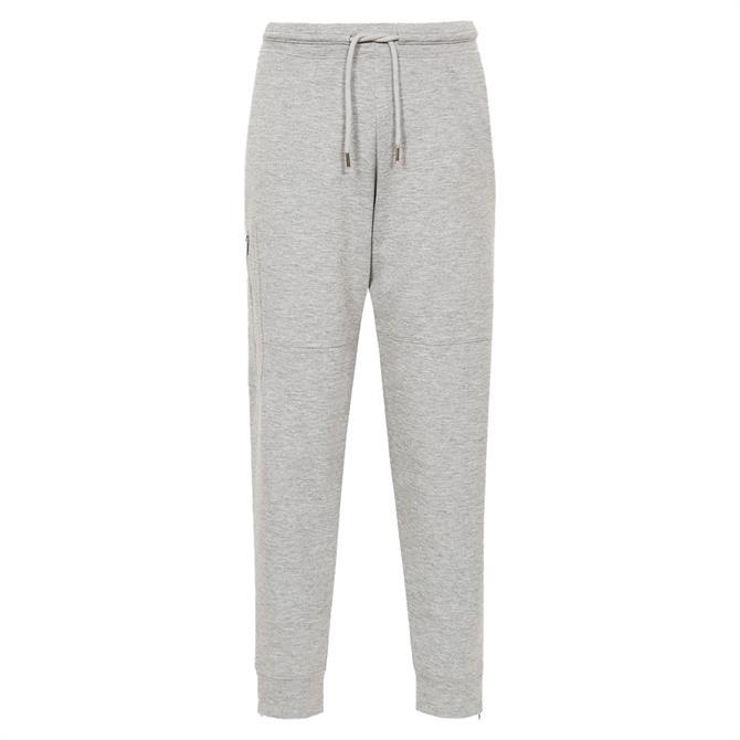 REISS ANGELINA Grey Marl Loungewear Joggers