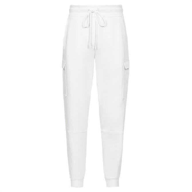 REISS BERNICE White Loungewear Cargo Joggers