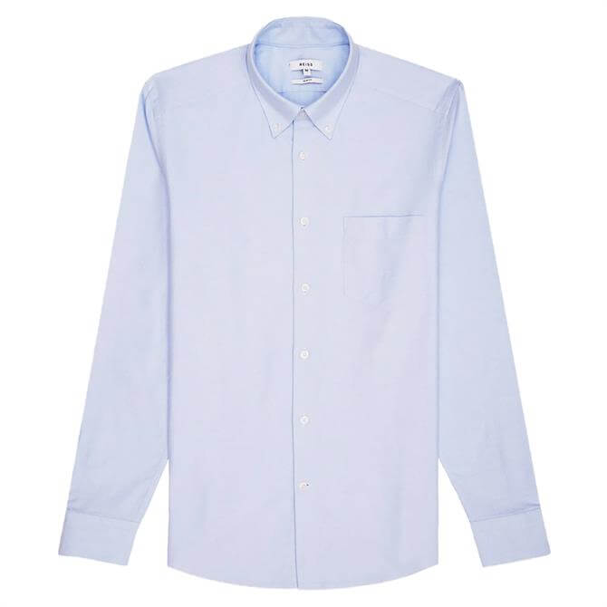REISS GREENWICH Soft Wash Button Down Oxford Shirt