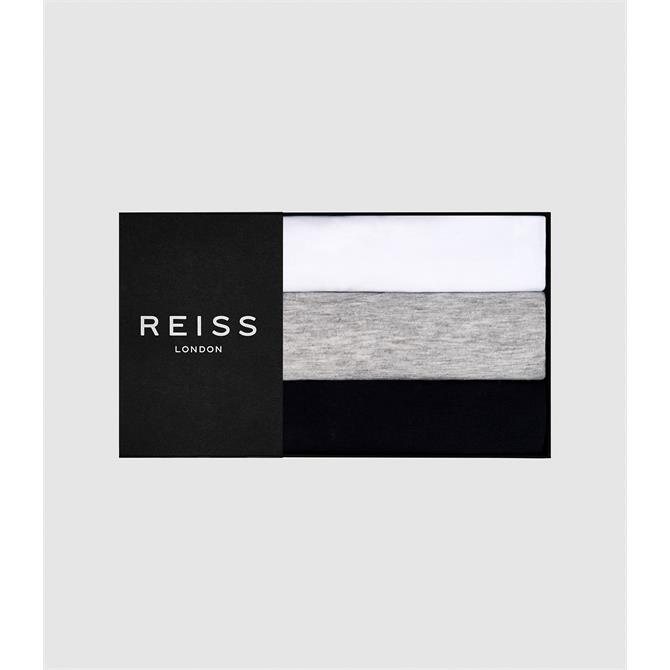 REISS BLESS Three Pack of Basic Crew Neck T-Shirts