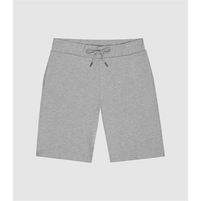 REISS HUNT Soft Grey Jersey Shorts