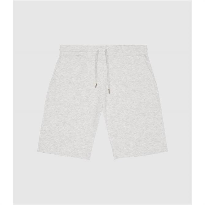 REISS TYNE Soft Grey Jersey Shorts