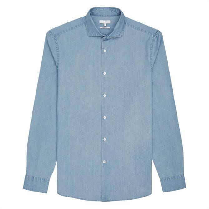 REISS DRAPER Chambray Shirt