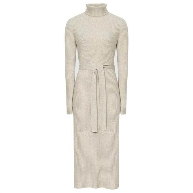 REISS KARA Knitted Bodycon Dress