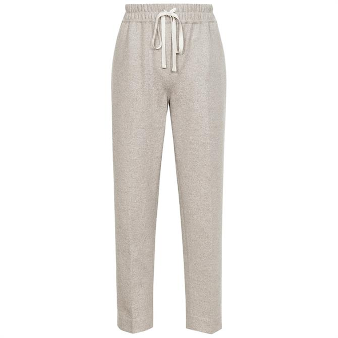 REISS MAISIE Textured Drawcord Trousers