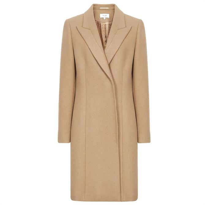 REISS MARLOW Short Wool Crombie Coat