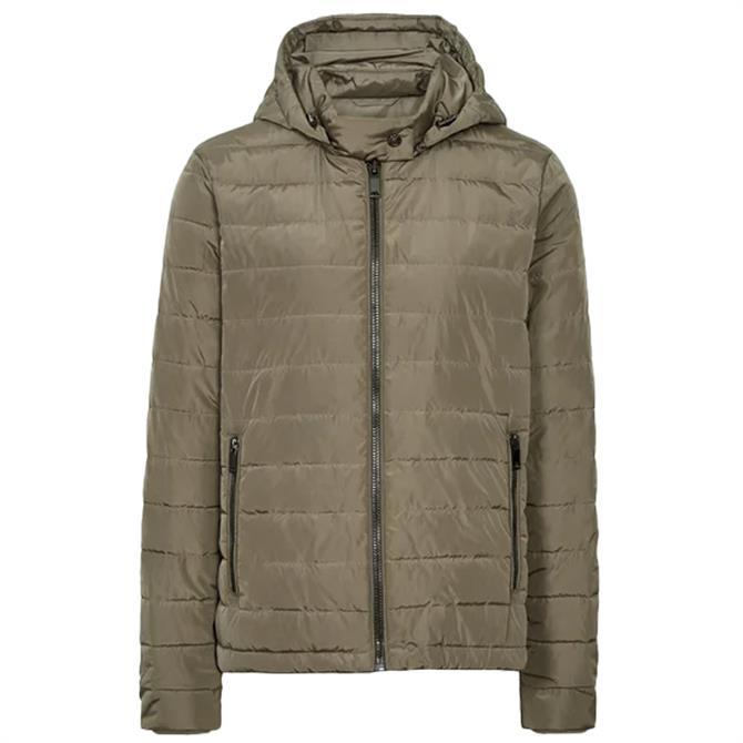 REISS SONIA Lightweight Hooded Puffer Jacket