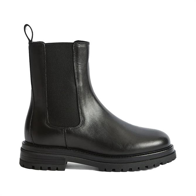 REISS THEA Leather Chelsea Boots