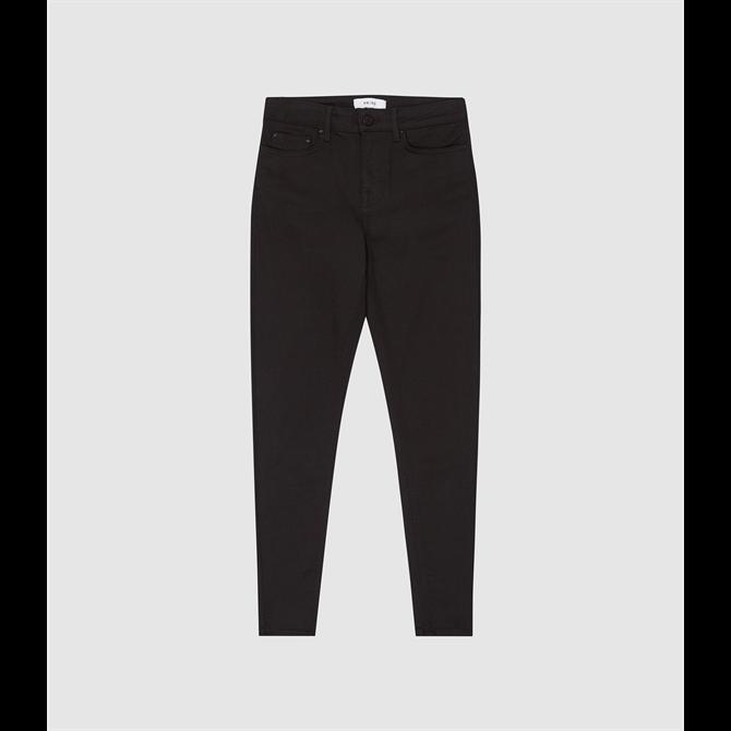 REISS LENNOX Wide Leg Soft Trousers