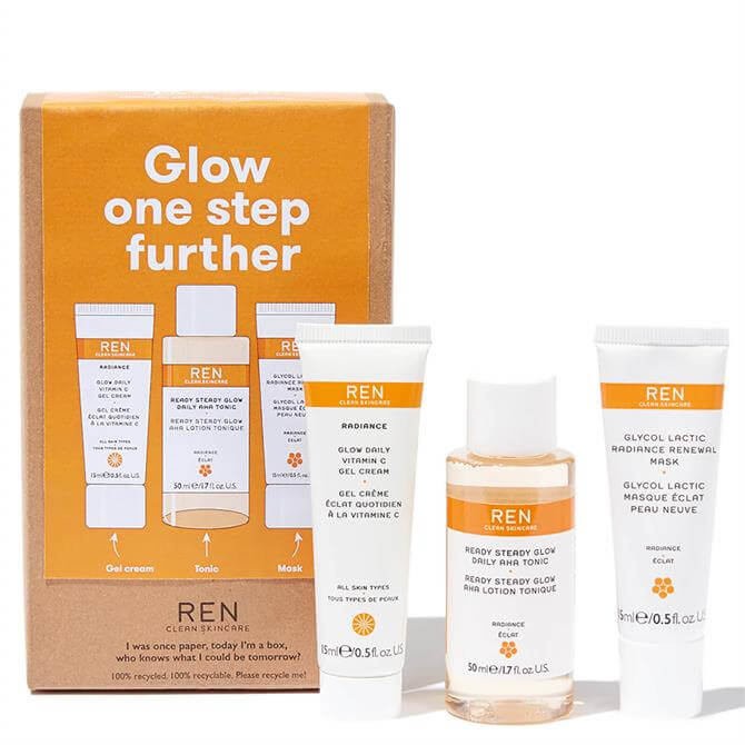 REN Radiance Glow One Step Further Complexion Kit