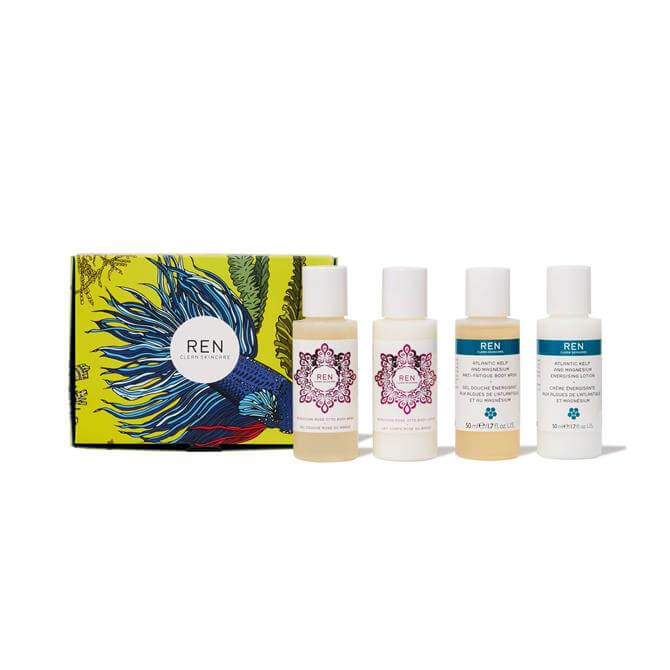 REN Mini Travel Body Gift Set- x4 50ml