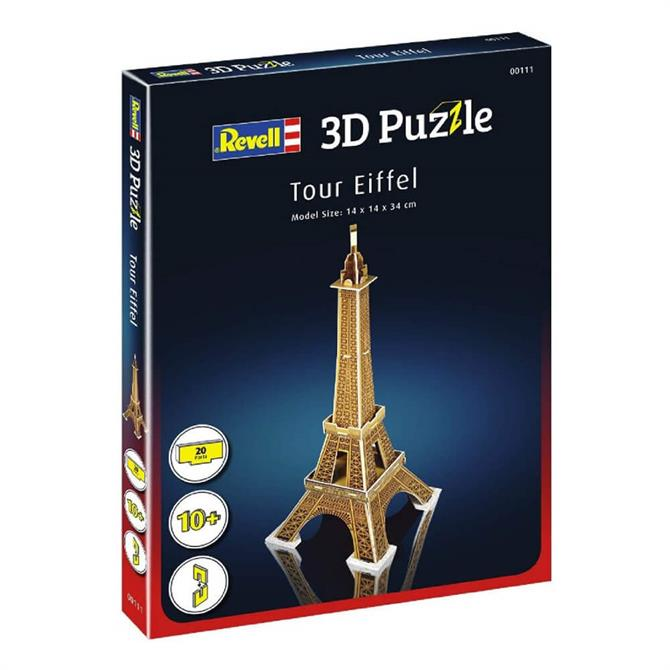 3D Puzzle Eiffel Tower – Small