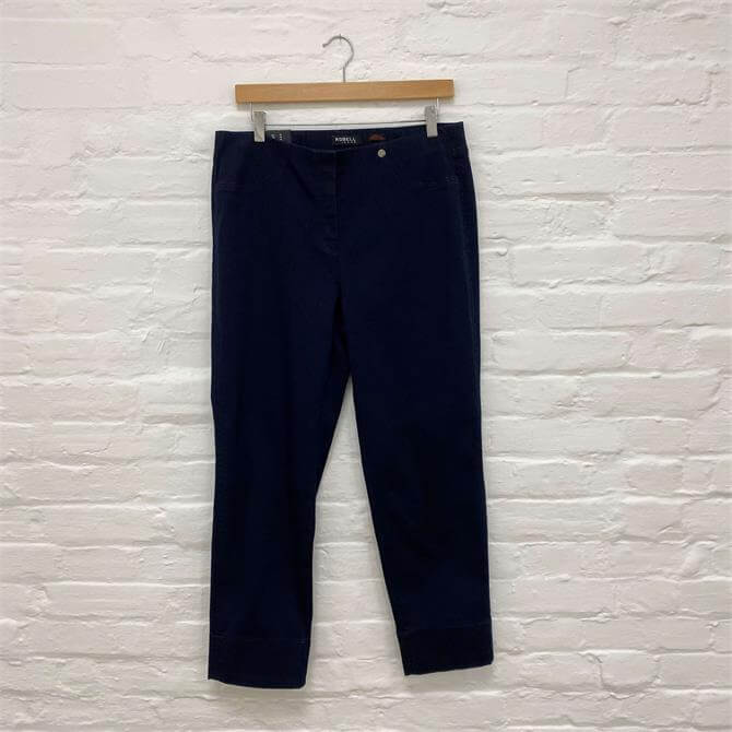 Robell Cropped Bella Trousers