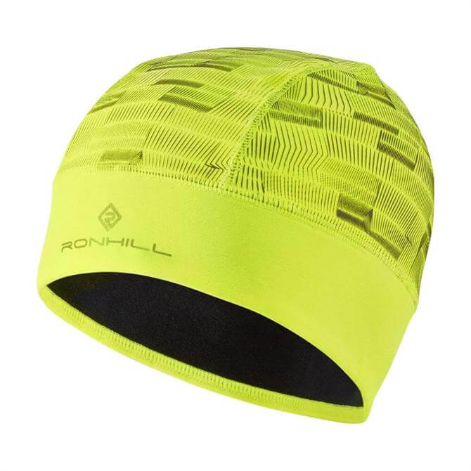 Ronhill Afterlight Beanie - Fluo Yellow
