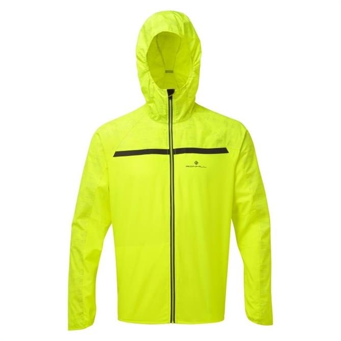 Ronhill Men's Momentum Afterlight Jacket - Fluo Yellow