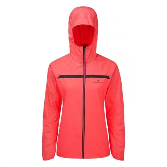 Ronhill Women's Momentum Afterlight Jacket - Fluo Pink