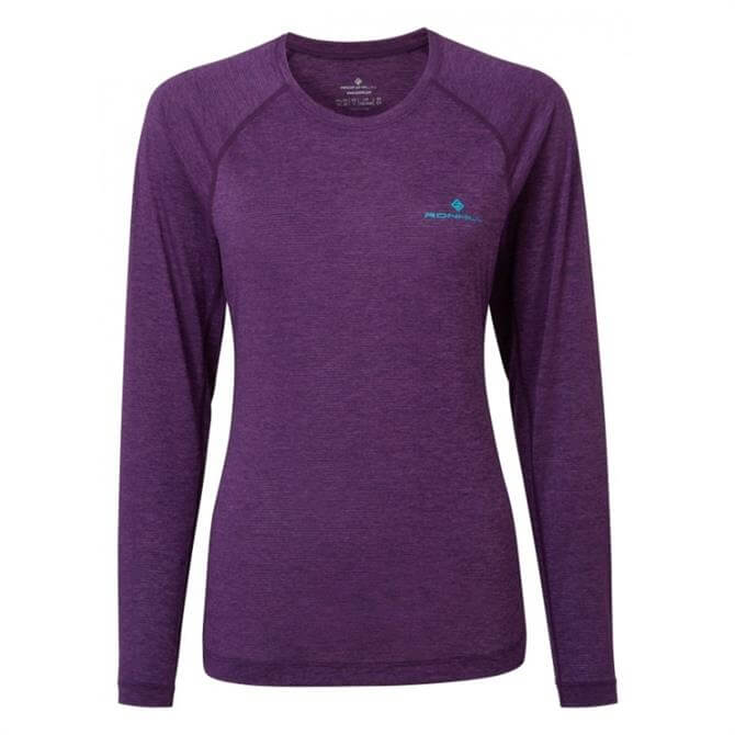 Ronhill Women's Momentum Long Sleeve Top - Berry