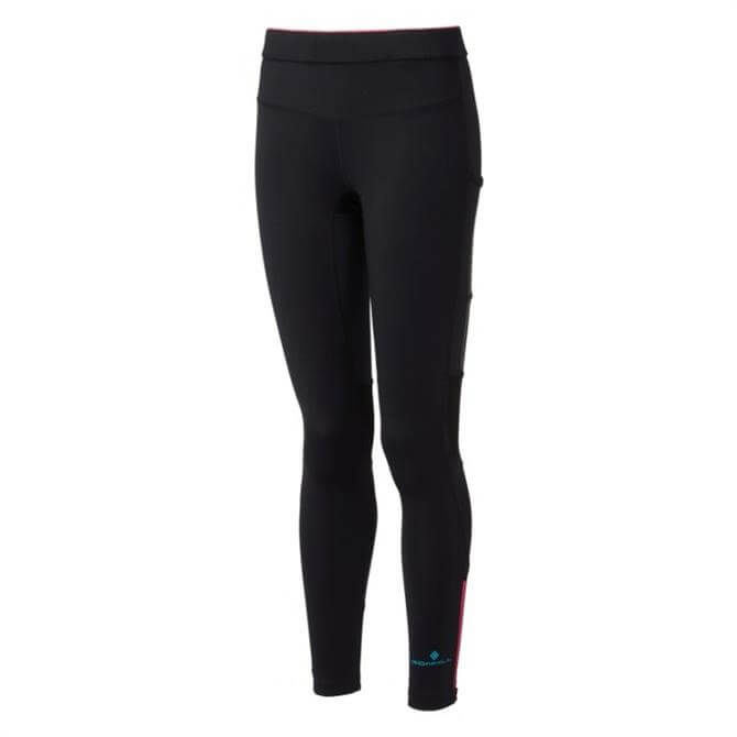 Ronhill Women's Stride Stretch Tight - Black/Pink