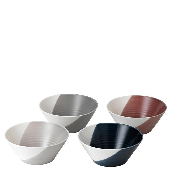 Royal Doulton Bowls of Plenty Set of 4 23cm Bowls