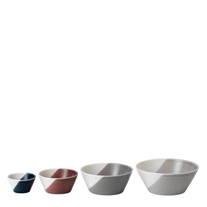 Royal Doulton Bowls of Plenty Set of 4 Small Nesting Bowls