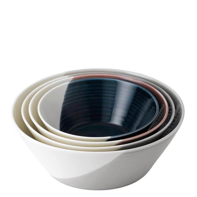 Royal Doulton Bowls of Plenty Set of 4 Large Nesting Bowls