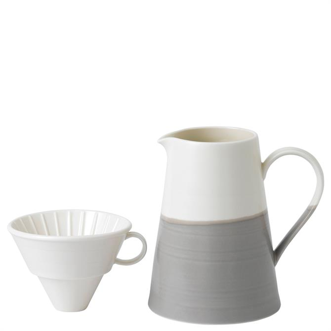 Royal Doulton Coffee Studio Coffee Dripper and Jug Set