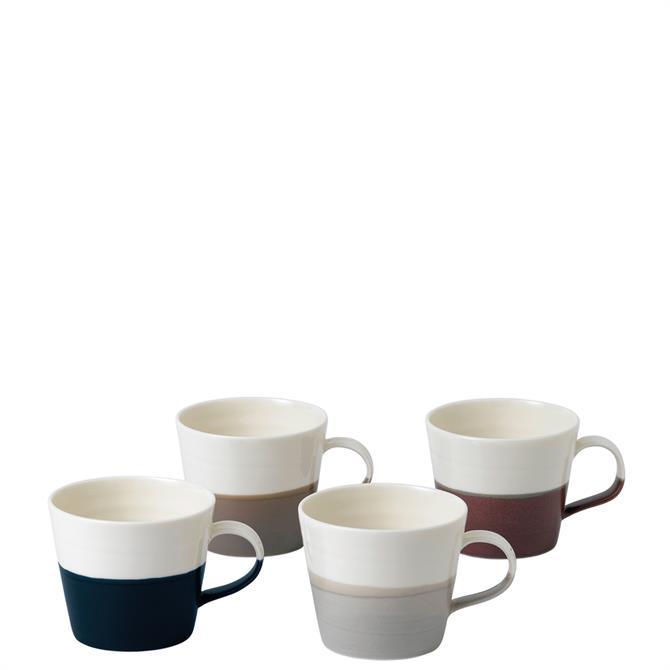 Royal Doulton Coffee Studio Small Mug Set of 4