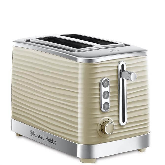 Russell Hobbs Inspire Cream Two Slice Toaster