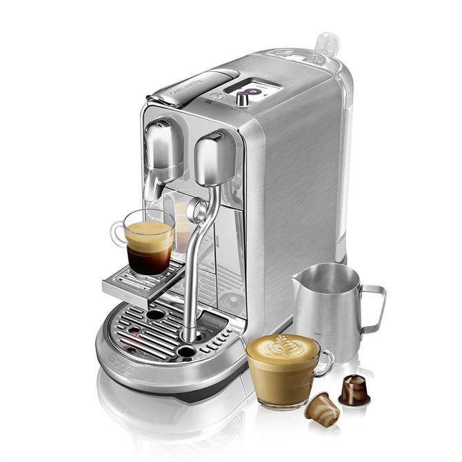 Nespresso Creatista Plus Coffee Machine by Sage: Stainless Steel