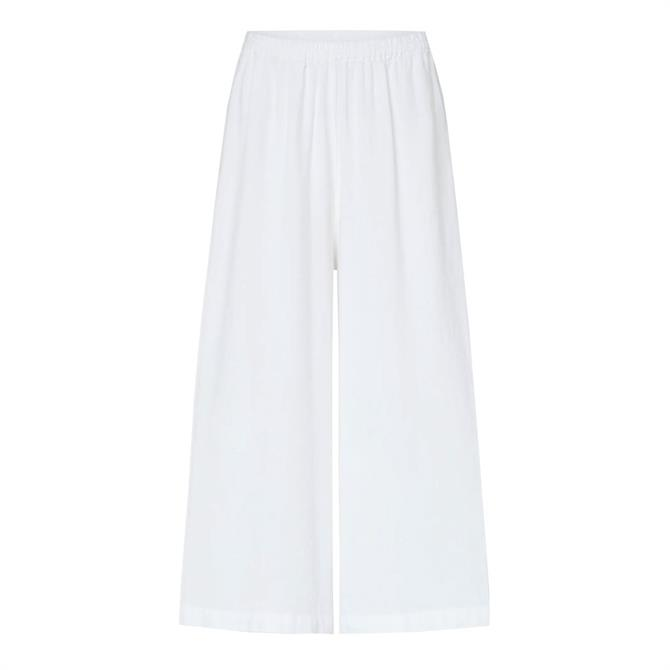 Sahara Textured Linen Culottes